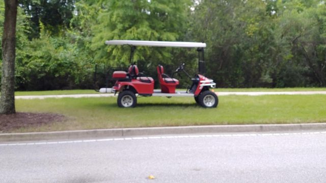 SKY 4 LIVE: Child thrown from golf cart in St. Johns County