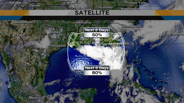 The next tropical system is drifting closer to the Gulf