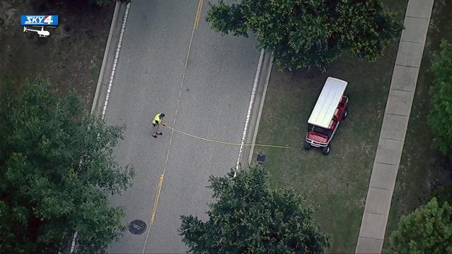St. Johns County teen awake & talking after golf cart mishap