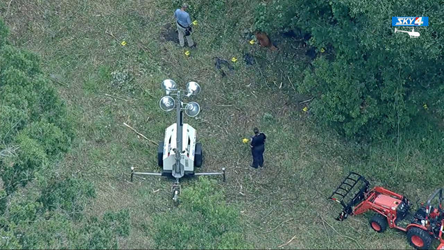 Foul play suspected in discovery of human remains in wooded area