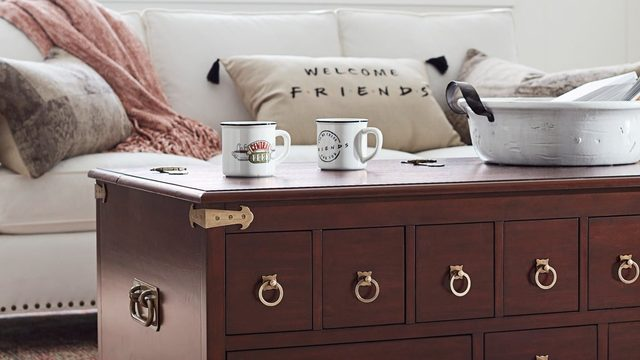 Pottery Barn to release exclusive 'Friends' themed collection