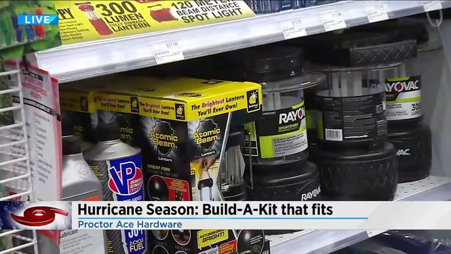 Building a hurricane kit that fits