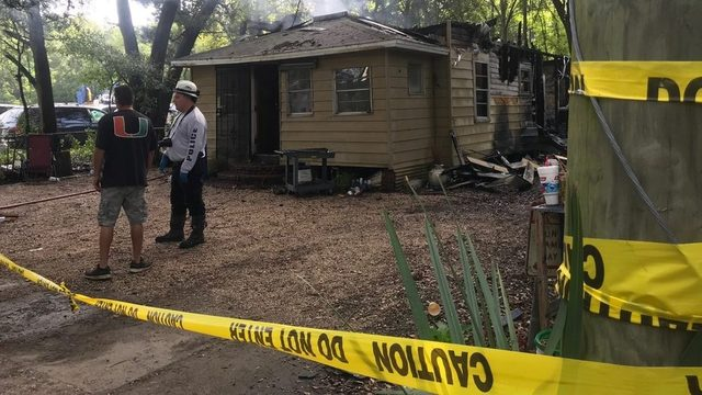 Fire heavily damages home on Jacksonville's Westside