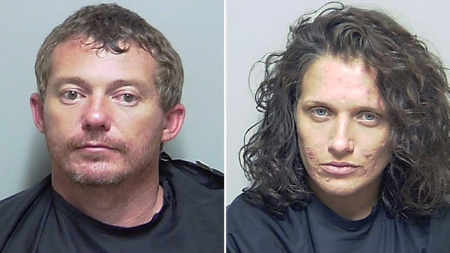 Police: Parents found with meth after leaving 5 children alone in motel
