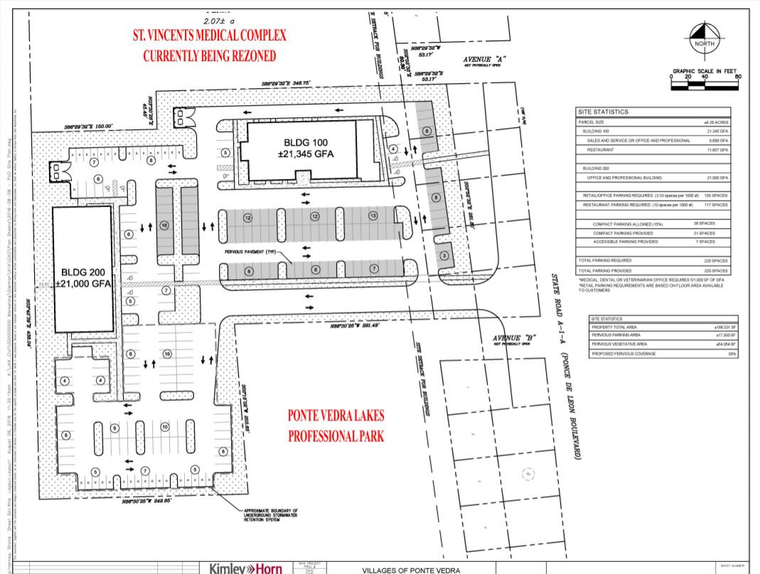 Site plan provided by Sleiman Enterprises