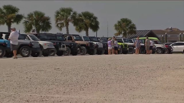 Demonstrators push to keep beach parking in Fernandina