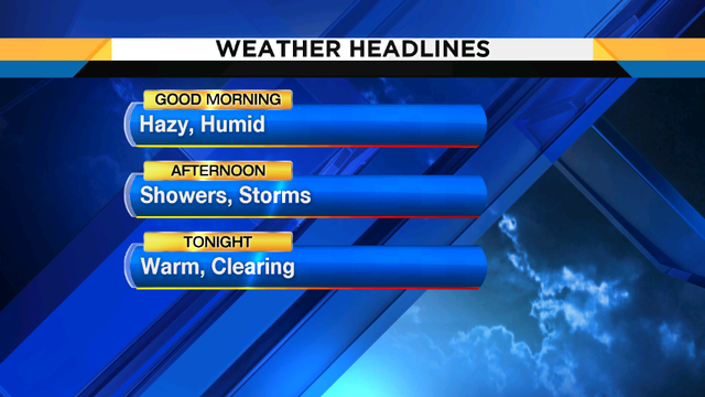 Hot, humid Hump day