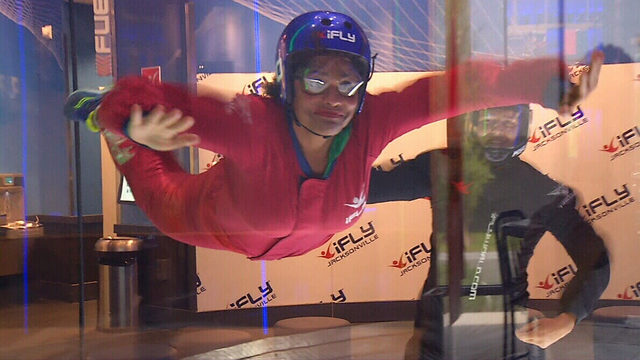 Hot Places to Stay Cool: Throw caution to the wind at iFly