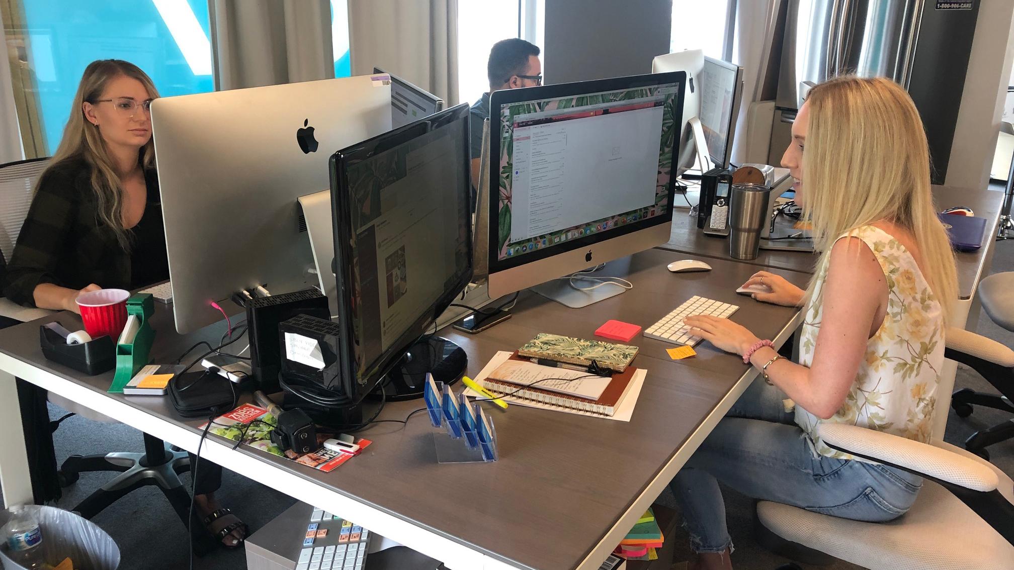 C7 app designers at work