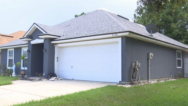 Southside home struck by lightning