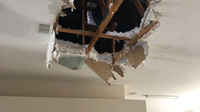 Southside home struck by lightning