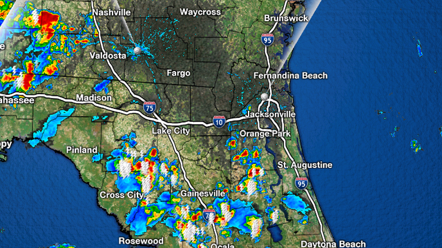 Storms firing up late, lingering into the evening hours