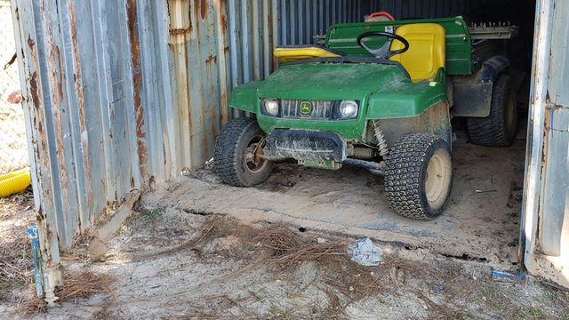 Thieves steal $3,000 field tractor from Argyle Athletic League