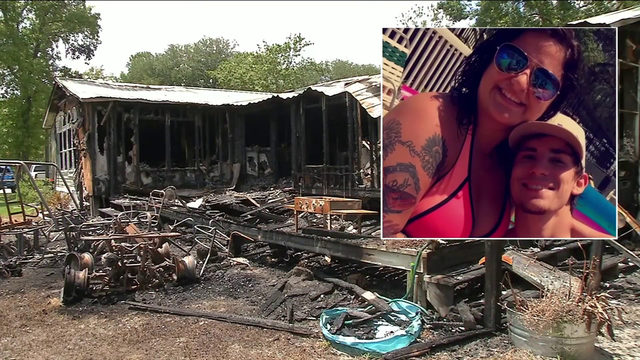 Year after losing loved ones & unborn child, family's home goes up in flames