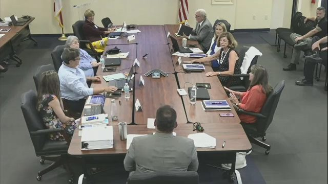 Clay County school leaders clash over sales tax resolution