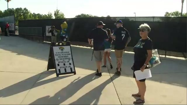 Jaguars training camp off to a running start Thursday