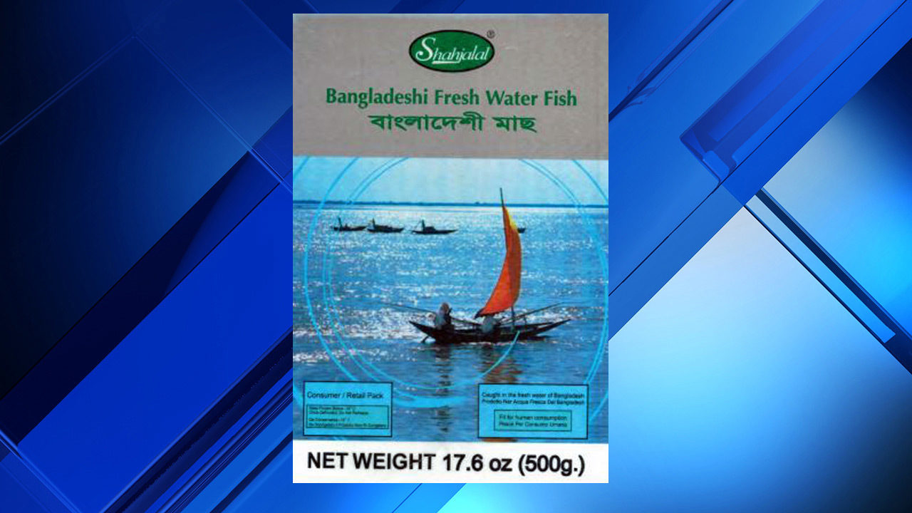 Premium Foods USA recalls frozen fish products