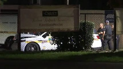 JSO police cruiser crashes near UNF