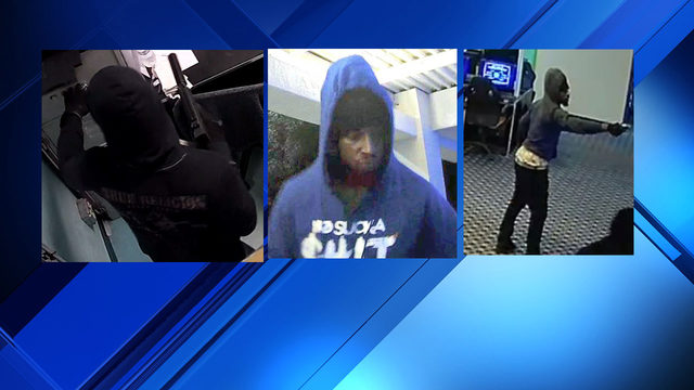Police search for 3 armed men who tried to rob arcade on July 1