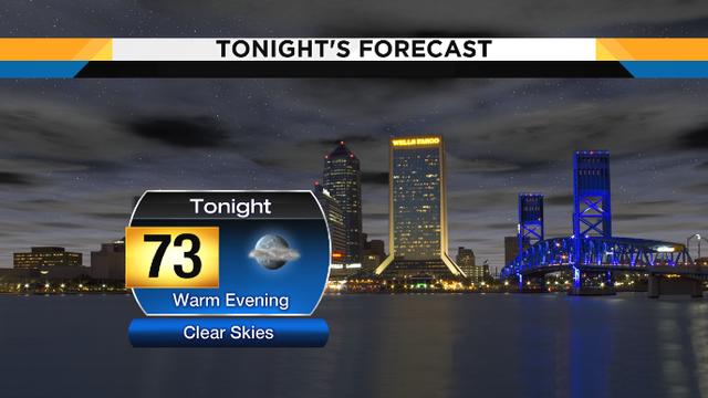 Warm & mostly dry tonight, rain headed our way Friday