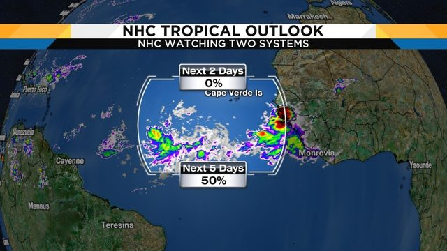 System in Eastern Atlantic likely to develop