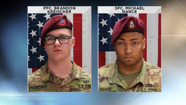 Pentagon identifies 2 US soldiers killed in Afghanistan