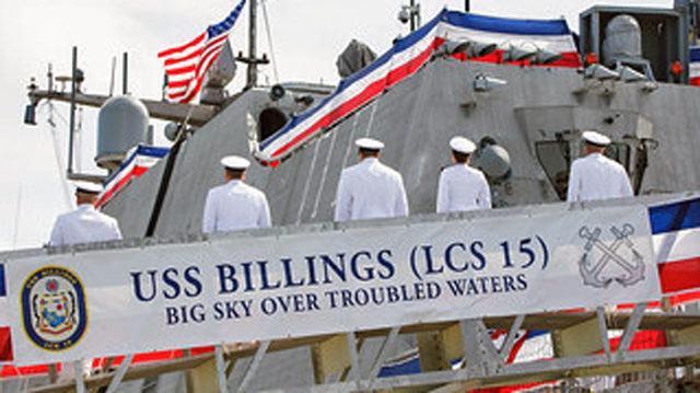 Newly commissioned USS Billings to arrive at new Mayport home