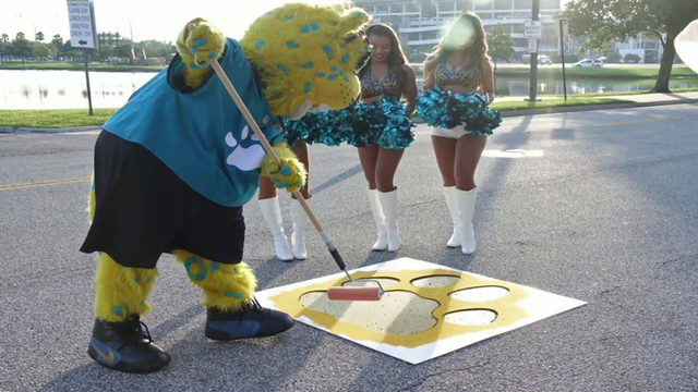 25th year of Painting of the Paws kicks off 2019 Jaguars season