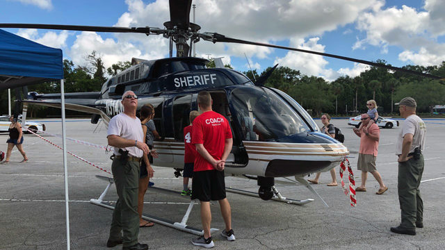 Jacksonville police, firefighters show off tools at safety fair