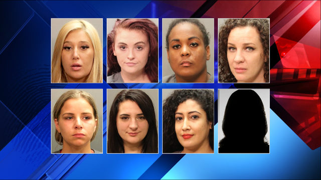 8 arrested, strip club shut down after JSO raid, fire inspection
