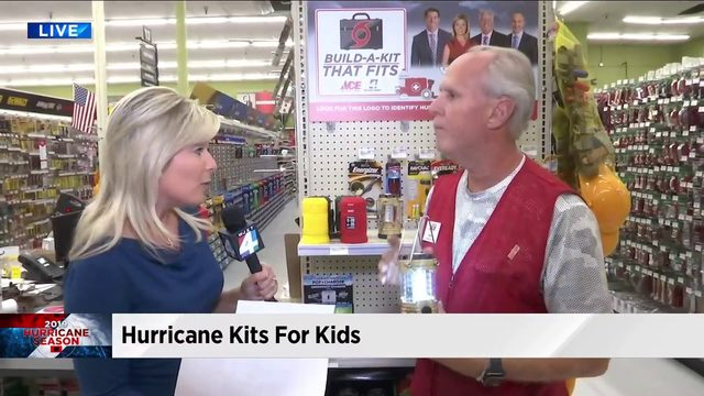 Hurricane kits for kids