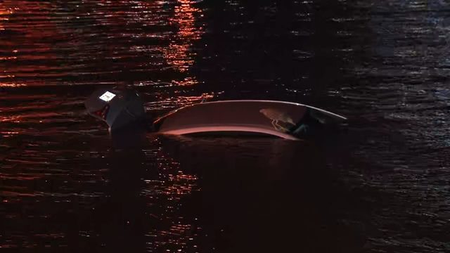 Driver rescued after car lands in St. Johns River near MOSH