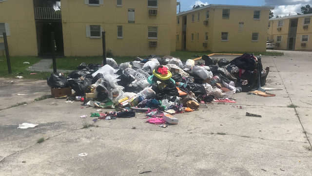 I-TEAM: Trash piling up at apartment complex cited with violations