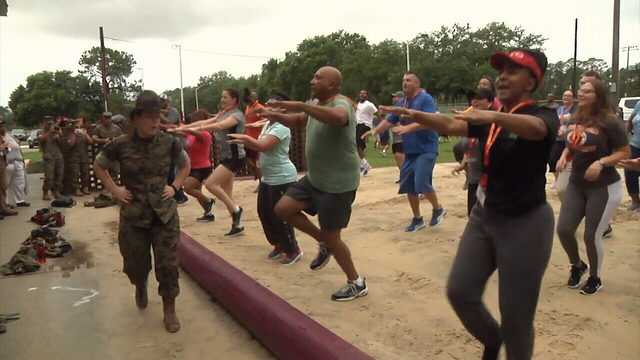 Florida, Georgia teachers learn Marine Corps lessons on Parris Island