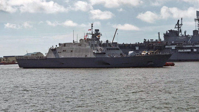 Newly commissioned USS Billings arrives at new Mayport home