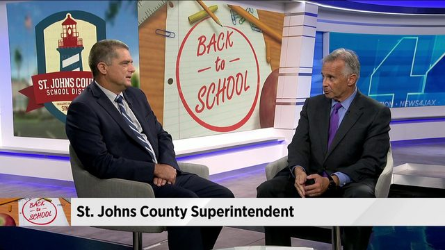 St. Johns County superintendent talks growth, teacher shortage, school safety