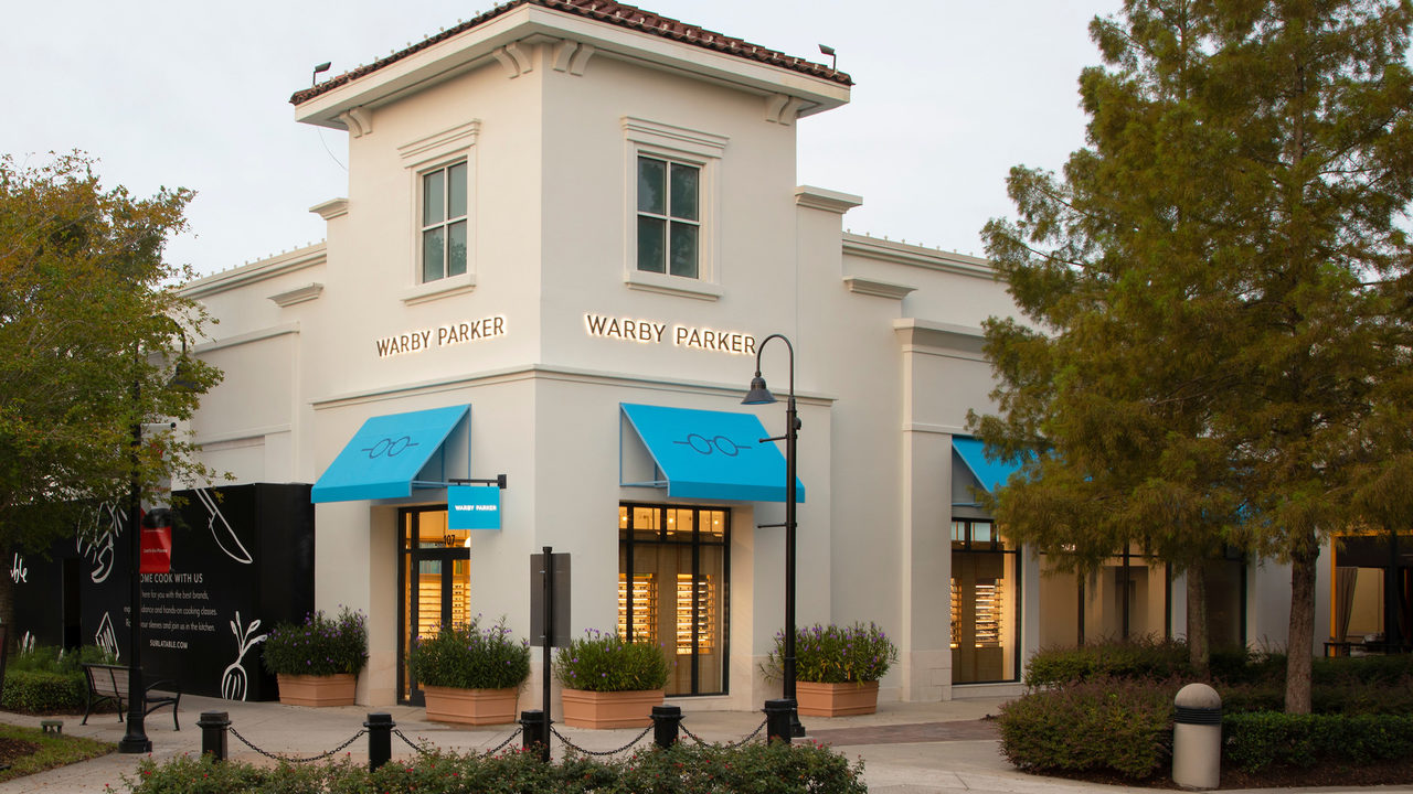 Warby Parker opening at St. Johns Town Center