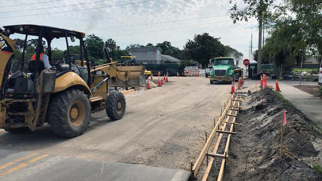 New bridge to reopen in front of Fletcher High School under construction