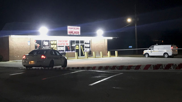 Security guard shot, killed during adult arcade robbery