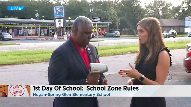 1st day of school in the books for Duval County students