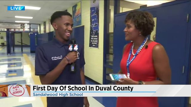 Our student reporter heads back to school