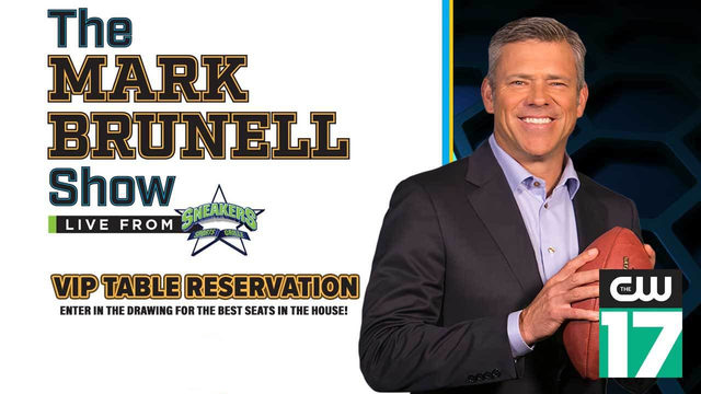Register to Reserve a VIP Table at Sneakers During The Brunell Show