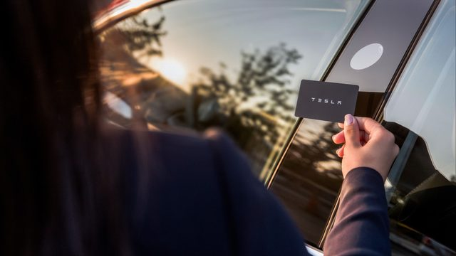 Say what? Tesla owner implants keyless entry chip in her arm