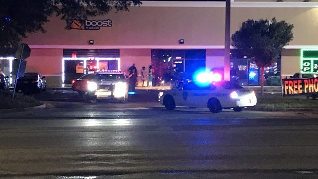 Officers investigate Moncrief shopping center