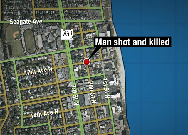 Jax Beach homicide map