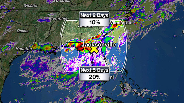 Potential tropical development next week as soaking rainfall continues
