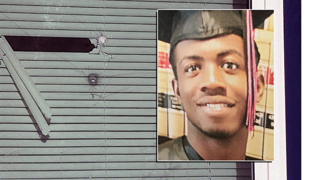 Family: Young father hurt when shots fired into home with kids inside
