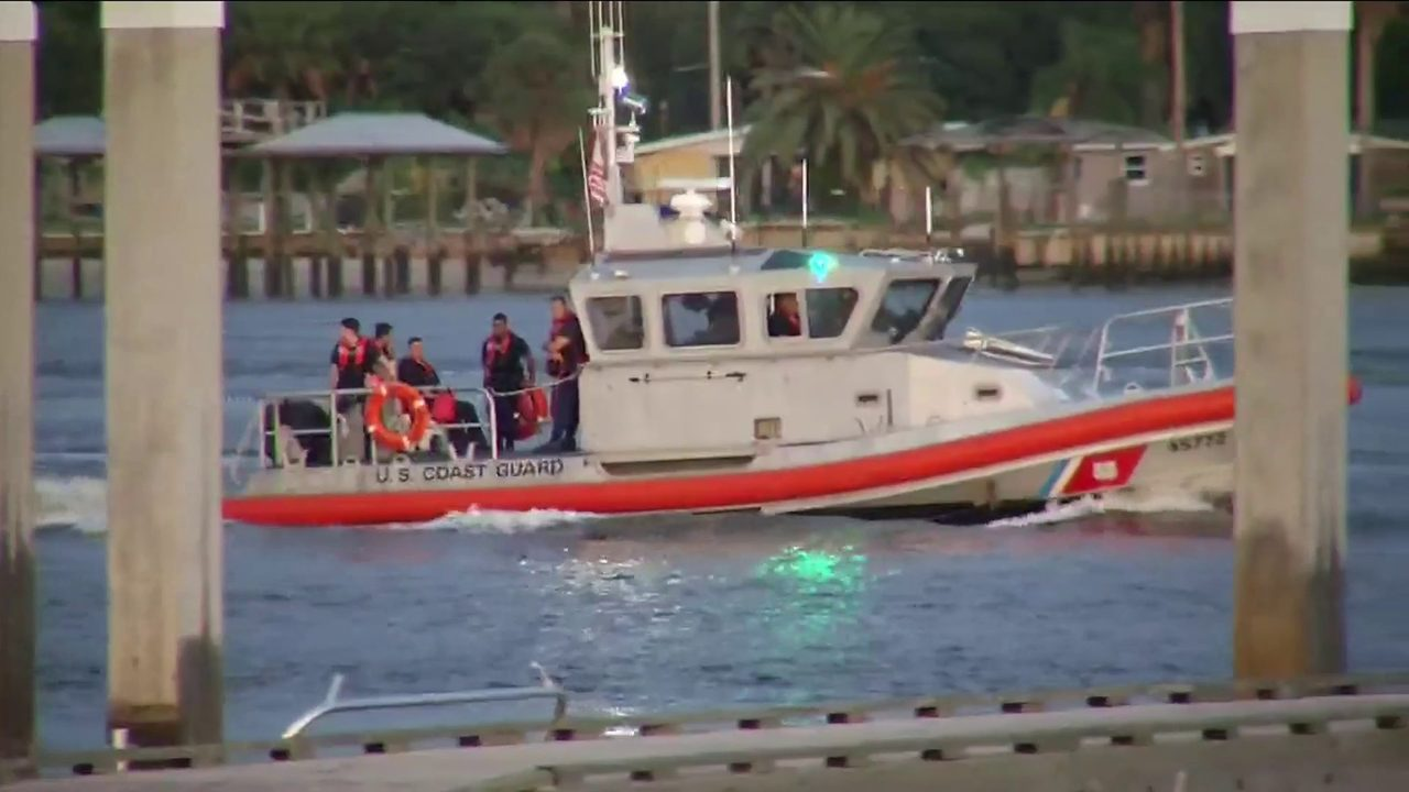 Search for firefighters missing at sea intensifies, prayer walks set