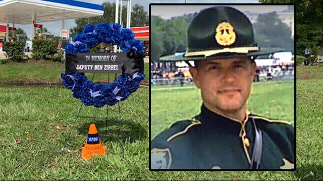 Wreath-laying ceremony held in memory of fallen Clay County deputy
