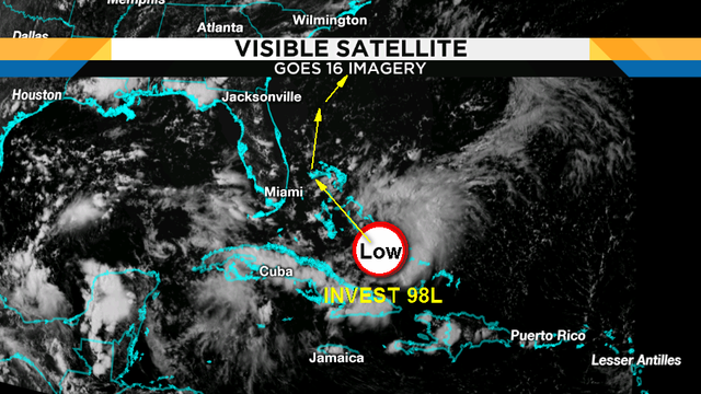 While Chantal swirls in the deep Atlantic, something lurks to our south